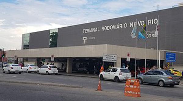 Transfer para Rodoviária Novo Rio saindo de Duque de Caxias