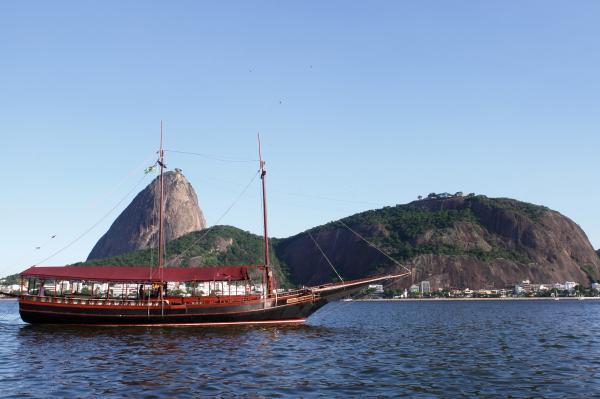 Passeio de Barco no Rio de Janeiro