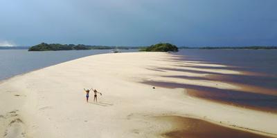 Foto do Parque Nacional de Anavilhanas
