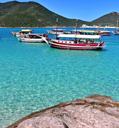 Foto do Passeio de Barco em Arraial