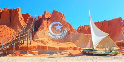 Foto da Praia de Canoa Quebrada