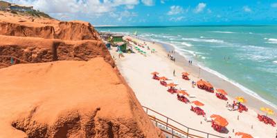 Foto da Praia de Morro Branco
